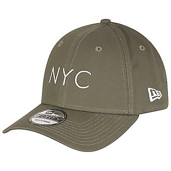 New era Cap - NYC LOGO olive 9Forty