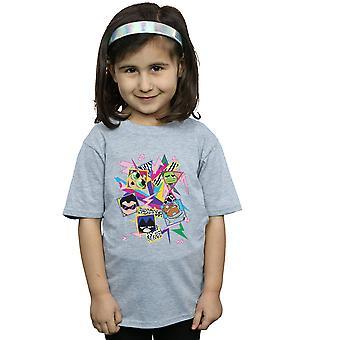 DC Comics Girls Teen Titans Go 80s Icons T-Shirt