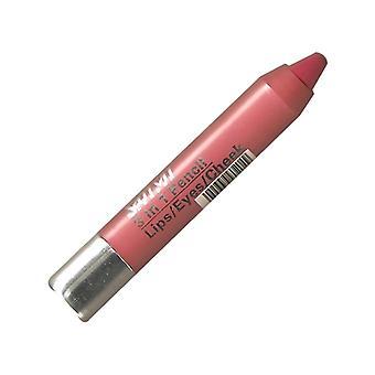 Saffron 3 In 1 Twist Up Crayon ~ Hot Pink