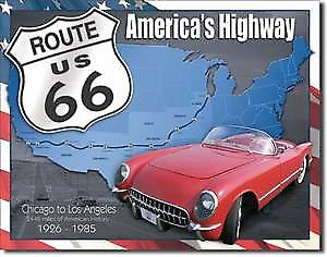 Route 66 1926 - 1985 metal sign    (de)