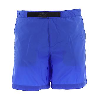 Prada Blue Nylon Trunks