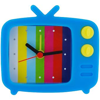 Die Olivia Collection Blue Novelty Silicone Alarm Clock TV Style & Test Picture