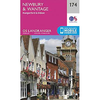 Newbury & Wantage - Hungerford & Didcot by Ordnance Survey - 97803192