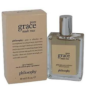 Amazing Grace Nude Rose By Philosophy Eau De Toilette Spray 2 Oz (women) V728-541333