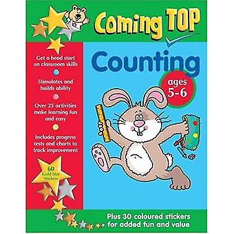 Counting Sticker Book (Coming Top) [Illustrated]