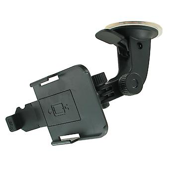 Window Mount / Dashboard Navigation Mount for Apple iPhone 4/4S (Black)