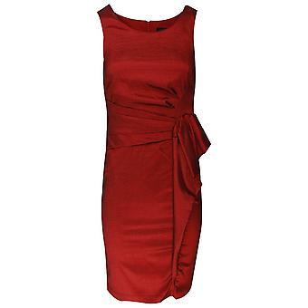Frank Lyman Sleeveless Dress With Fold & Bow Detail