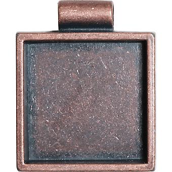Lisa Pavelka Bezel 1 Pkg Antique Copper Square Lp2727 7