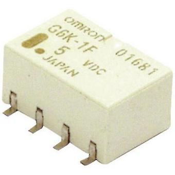 SMD relay 5 Vdc 1 A 2 change-overs Omron G6K-2F-Y