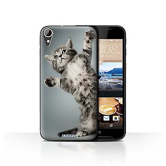 STUFF4 Case/Cover for HTC Desire 830/High Five/Cute Kittens