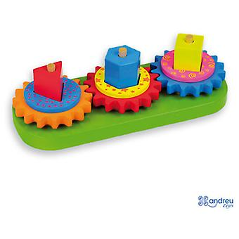 Andreu Toys Gyro Blocks (Toys , Preschool , Babies , Stackable Toys)