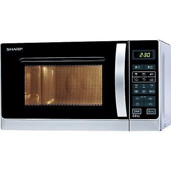 Sharp Microwave 20L Grill, touch control, 800W, Silver