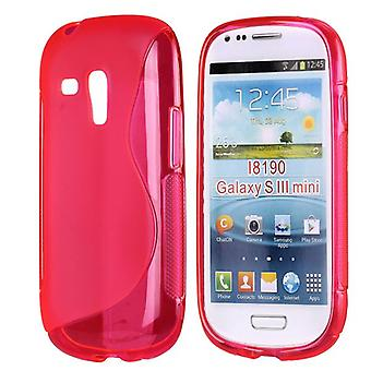 In S, TPU, to Galaxy S3 mini (Pink)