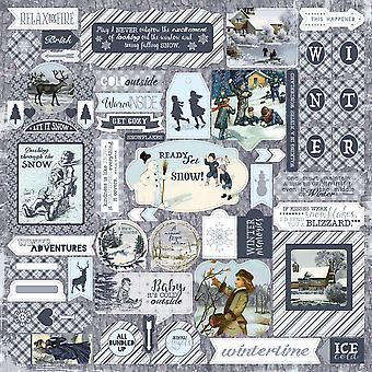 Wintery Cardstock Stickers 12