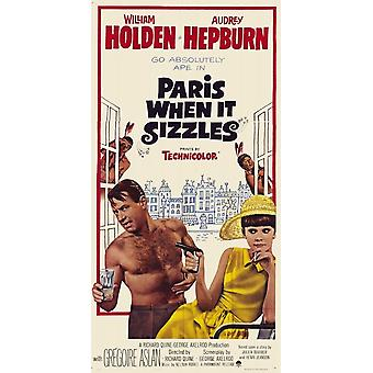 Paris When It Sizzles Movie Poster (11 x 17)