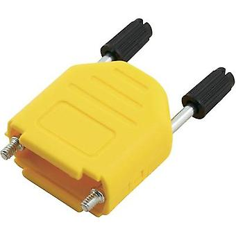 D-SUB housing Number of pins: 25 Plastic 180 ° Yellow MH Connectors MHDPPK25-Y-K 1 pc(s)