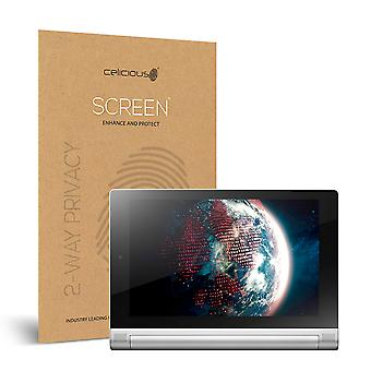 Celicious Privacy Lenovo Yoga Tablet 2 8.0 2-Way Visual Black Out Screen Protector