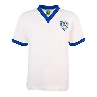 Leicester City 1950\'s Away Retro Football Shirt