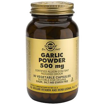 Solgar Garlic Controlled Biological Cultivation. 500mg. 90Vegic