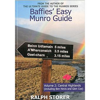 Baffies' Easy Munro Guide Vol. 2 - Central Highlands (Paperback) by Storer Ralph