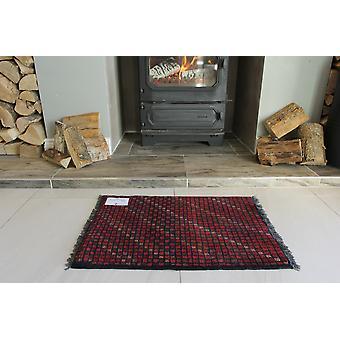 Lille afghanske røde orientalsk tæppe