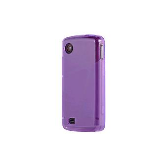 OEM Verizon LG Chocolate Touch VX8575 lucido custodia in Silicone - viola (Bulk Pa
