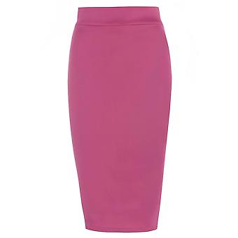 Fuschia Pencil Skirt UK SIZE 18