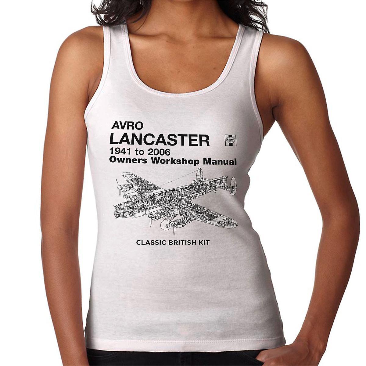 Haynes Owners Workshop Manual Arvo Lancaster 1941 to 2006 Women's Vest