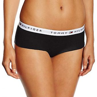Tommy Hilfiger Women Iconic Cotton Shorty Brief, Black, X-Large