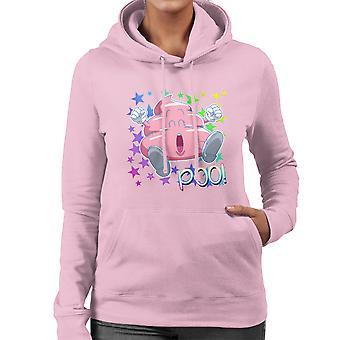 Arale Poop Dr. Slump Damen Sweatshirt mit Kapuze