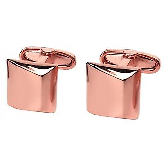 Denisonboston Stealth Moderno Square Manschettenknöpfe - Rose Gold