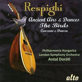 Philharmonica Hungarica/London Symphony - Respighi Ancient Airs & Dances/Bi [CD] USA import