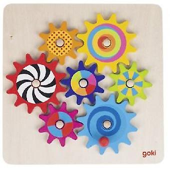 Goki Cogwheel game (Toys , Preschool , Babies , Early Childhood Toys)