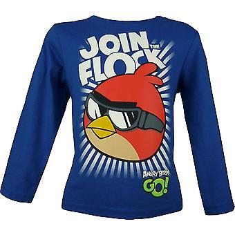 Angry Birds Boys Long Sleeve T-Shirt \ Top