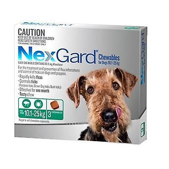 NexGard 3 Pack for Dogs 10-25 kgs