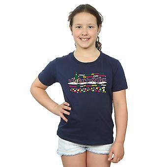 Elf Girls Candy Cane Forest T-Shirt