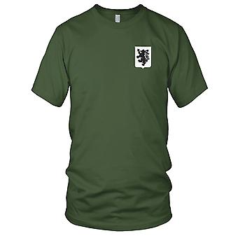 US Army - 28th Infantry Regiment Embroidered Patch - Mens T Shirt