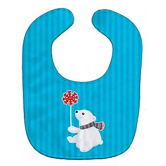 Carolines Treasures  BB8983BIB Polar Bear Baby Bib