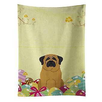 Carolines Treasures  BB6018KTWL Easter Eggs Mastiff Kitchen Towel