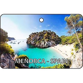 Menorca - Spain Car Air Freshener