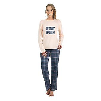 BlackSpade 6190-207 Women's Off White Solid Colour Pajama Sleepwear Pyjama Set