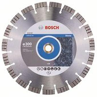Bosch 2608602647 300 X 20/25.4Mm Diamond Cutting Disc Best For Stone