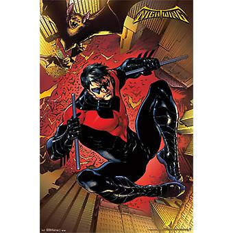 Nightwing - Jump Poster Poster Print
