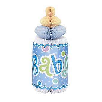 Unique Party Baby Shower Honeycomb Bottle Decoration