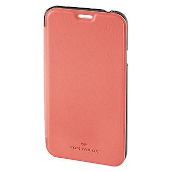 Tom Tailor Booklet New Basic Voor Samsung Galaxy S6 Flamingo Pink