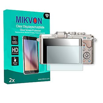 Olympus PEN E-PL8 Screen Protector - Mikvon Clear (Retail Package with accessories)
