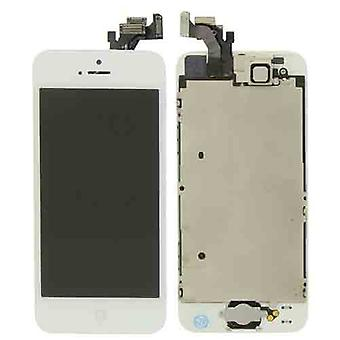 Volledig gemonteerde iPhone 5G LCD  A+ - wit