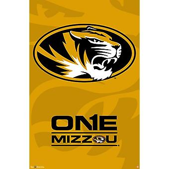 University of Missouri-Columbia - Logo 13 Poster drucken