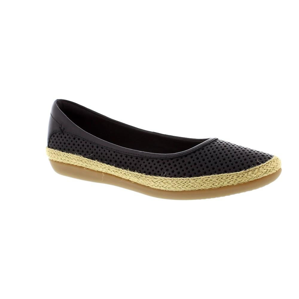 Clarks Danelly Adira - Black (Leather) Womens Shoes