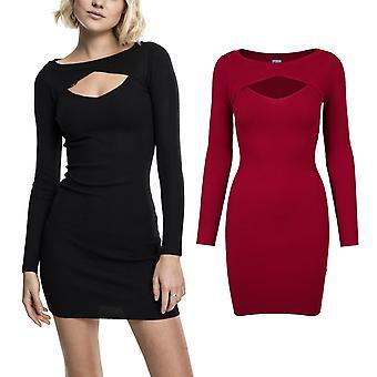 Urban classics ladies - CUT OUT mini knit evening dress